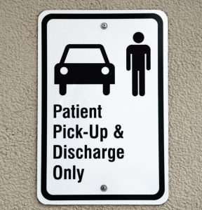 hospital sign post-pandemic sign trend