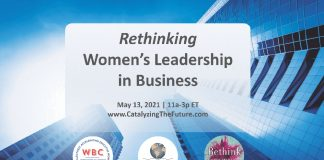 womens leadership in business event
