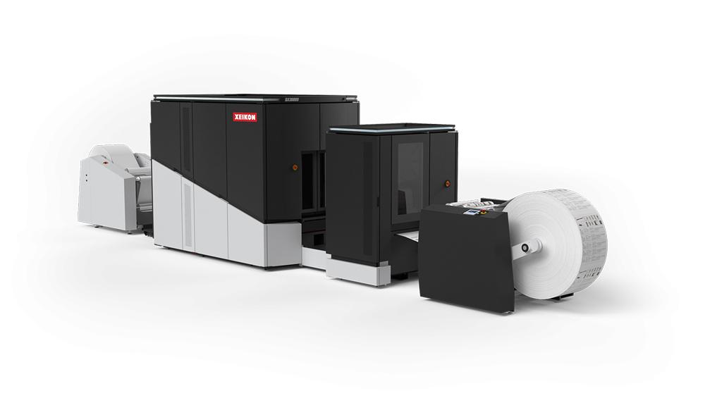 Xeikon SX30000 Grandville Printing