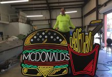Kemp Signs McDonald's Signs