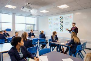 digital signage classrooms