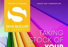 sign builder illustrated august 2021