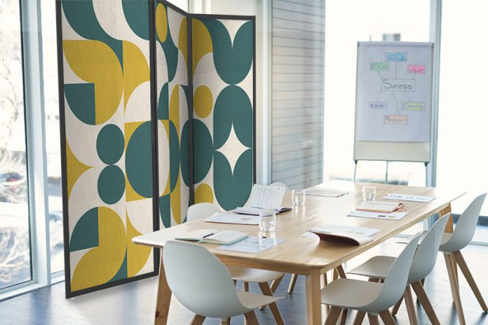 Fi interiors Fabric Images Acoustical Partition Products
