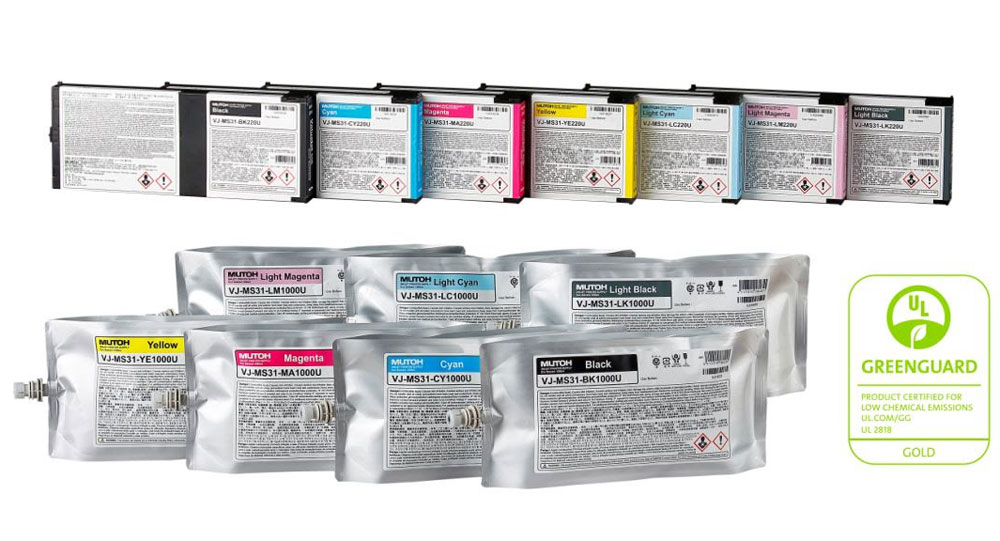 Mutoh MS31 Eco-Solvent Ink