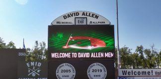 watchfire signs david allen stadium