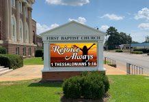 church digital sign